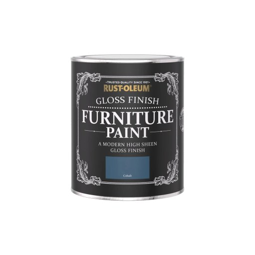 Rust-Oleum Gloss Furniture Paint Cobalt 750ml