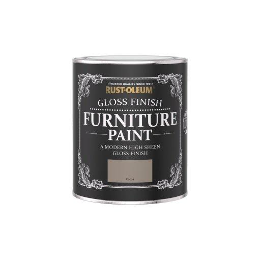 Rust-Oleum Gloss Furniture Paint Cocoa 750ml