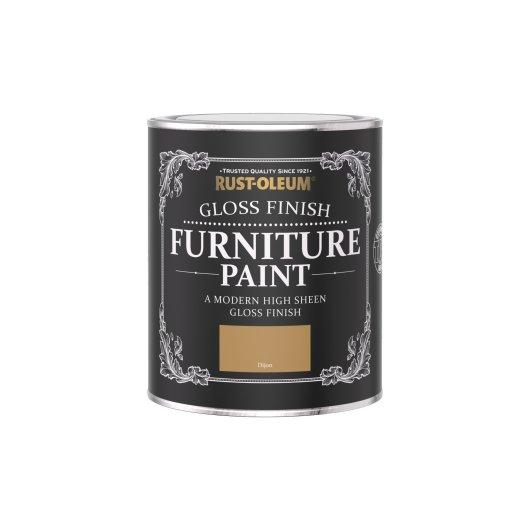 Rust-Oleum Gloss Furniture Paint Dijon 750ml