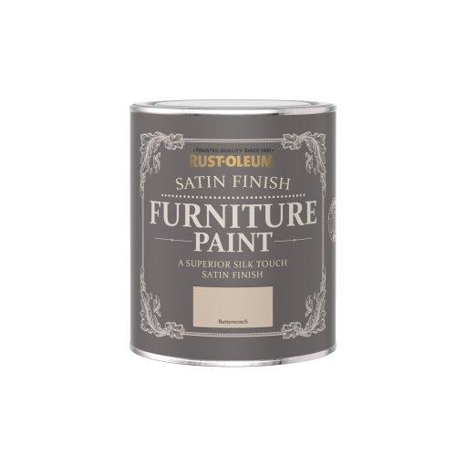 Rust-Oleum Satin Furniture Paint Butterscotch 750ml