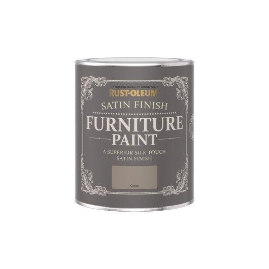Rust-Oleum Satin Furniture Paint Cocoa 750ml