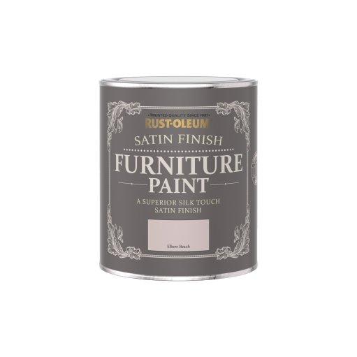 Rust-Oleum Satin Furniture Paint Elbow Beach 750ml