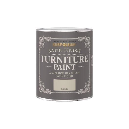 Rust-Oleum Satin Furniture Paint Half Light 750ml