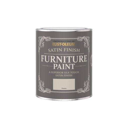 Rust-Oleum Satin Furniture Paint Hessian 750ml