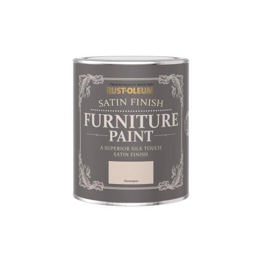 Rust-Oleum Satin Furniture Paint Homespun 750ml