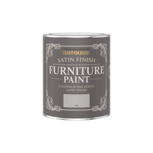 rust-Oleum Satin Furniture Paint Flint 750ml