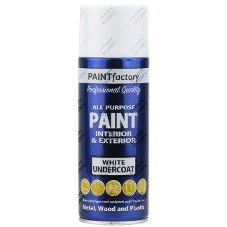 White Undercoat Spray Paint All Purpose 400ml