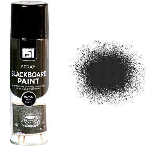 1-x-Blackboard-Spray-Paint-Bedroom-School-Room-250ml-Chalk-Board-Black-Matt-151-332294211510