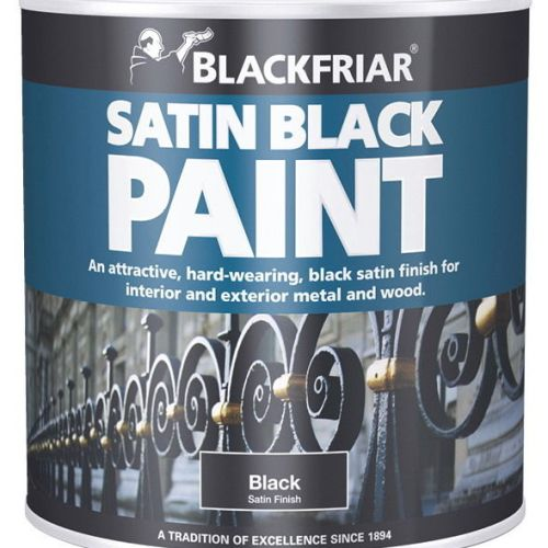 Blackfriar-Wood-And-Metal-Satin-Black-Paint-Interior-Exterior-500ml-391857565625