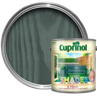 Cuprinol-6-Year-Garden-Shades-Paint-Wood-Furniture-Sheds-Fences-25L-Sage-372252966691