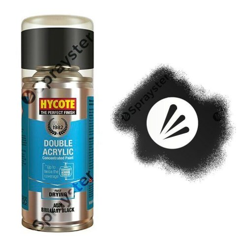 Hycote-Audi-Brilliant-Black-Gloss-Spray-Paint-Enviro-Can-All-Purpose-XDAD402-333199904917
