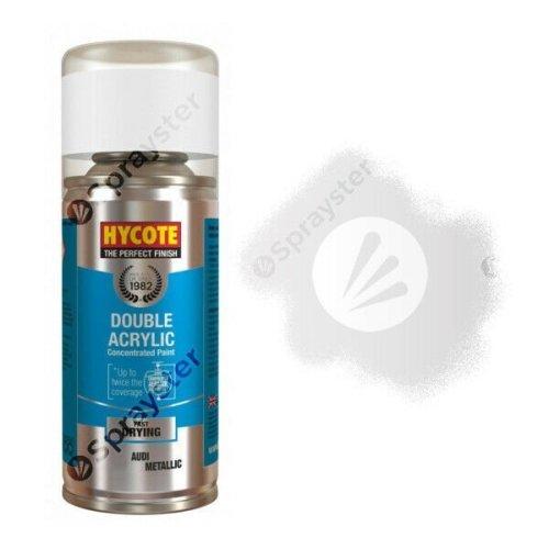 Hycote-Audi-Crystal-Silver-Metallic-Spray-Paint-Enviro-Can-All-Purpose-XDAD403-392301017422