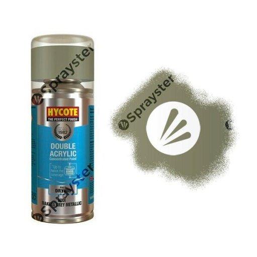Hycote-Audi-Dakota-Grey-Metallic-Spray-Paint-Enviro-Can-All-Purpose-XDAD505-372675979275
