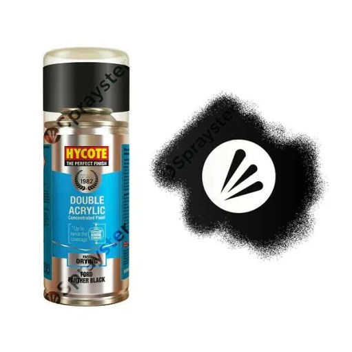 Hycote-Ford-Panther-Black-Pearlescent-Spray-Paint-Enviro-Can-All-Purpose-XDFD414-372701251109