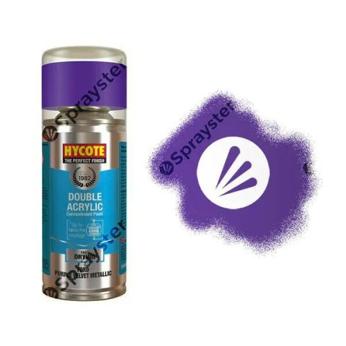 Hycote-Ford-Purple-Velvet-Metallic-Spray-Paint-Enviro-Can-All-Purpose-XDFD508-333254734921