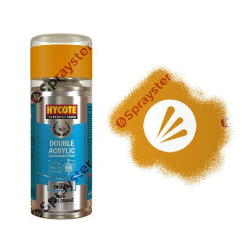 Hycote-Ford-Signal-Orange-Gloss-Spray-Paint-Enviro-Can-All-Purpose-XDFD528-392331029197