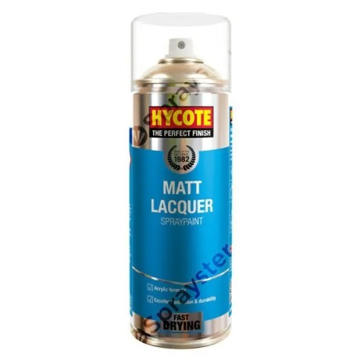 Hycote-Matt-Lacquer-Spray-Paint-Aerosol-Auto-Car-Multi-Purpose-400ml-XUK993-333190420901