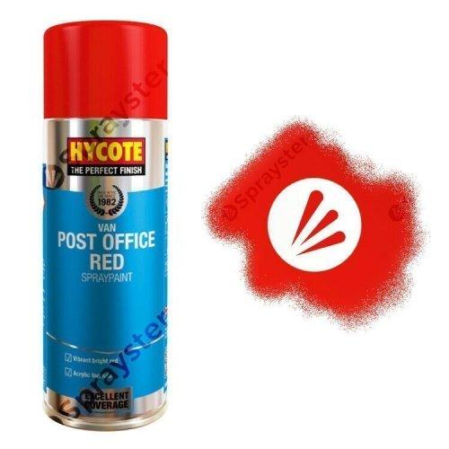Hycote-Post-Office-Van-Red-Gloss-Spray-Paint-Auto-Multi-Purpose-400ml-XUK481-333199083432