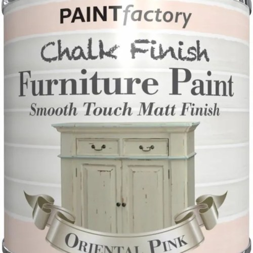 Paint-Factory-Chalk-Chalky-Furniture-Paint-250ml-Oriental-Pink-Matt-332685011314