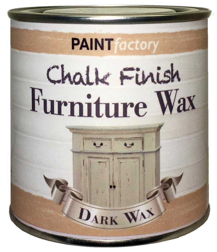 Paint-Factory-Chalky-Furniture-Wax-Shabby-Chic-200ml-Dark-Wax-Antique-Look-391881698724