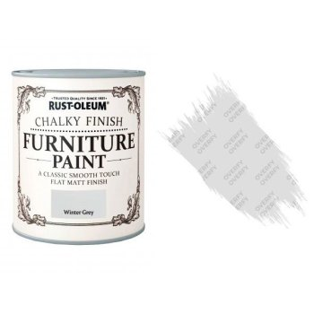 Rust-Oleum-Chalk-Chalky-Furniture-Paint-Chic-Shabby-125ml-Winter-Grey-Matt-331825010103