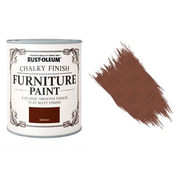 Rust-Oleum-Chalk-Chalky-Furniture-Paint-Chic-Shabby-750ml-Salmon-Matt-331825035128