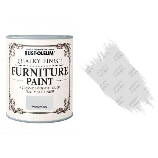 Rust-Oleum-Chalk-Chalky-Furniture-Paint-Chic-Shabby-750ml-Winter-Grey-Matt-391428379046