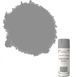 Rust-Oleum-Chalk-Chalky-Furniture-Spray-Paint-Shabby-Chic-400ml-Winter-Grey-372062573295