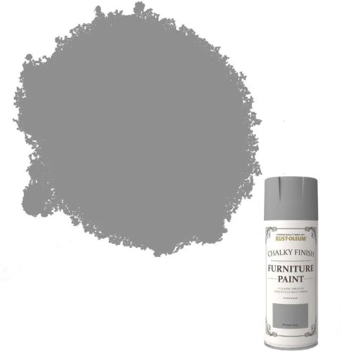 Rust-Oleum-Chalk-Chalky-Furniture-Spray-Paint-Shabby-Chic-400ml-Winter-Grey-372062573295
