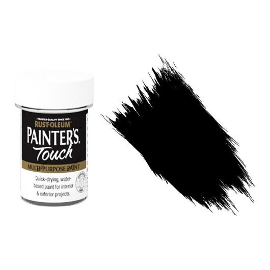Rust-Oleum-Painters-Touch-Multi-Surface-Paint-Black-Gloss-20ml-Toy-Safe-372243288454