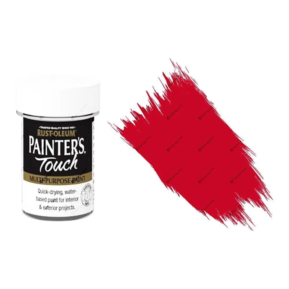 Rust-Oleum-Painters-Touch-Multi-Surface-Paint-Bright-Red-Gloss-20ml-Toy-Safe-332579962209