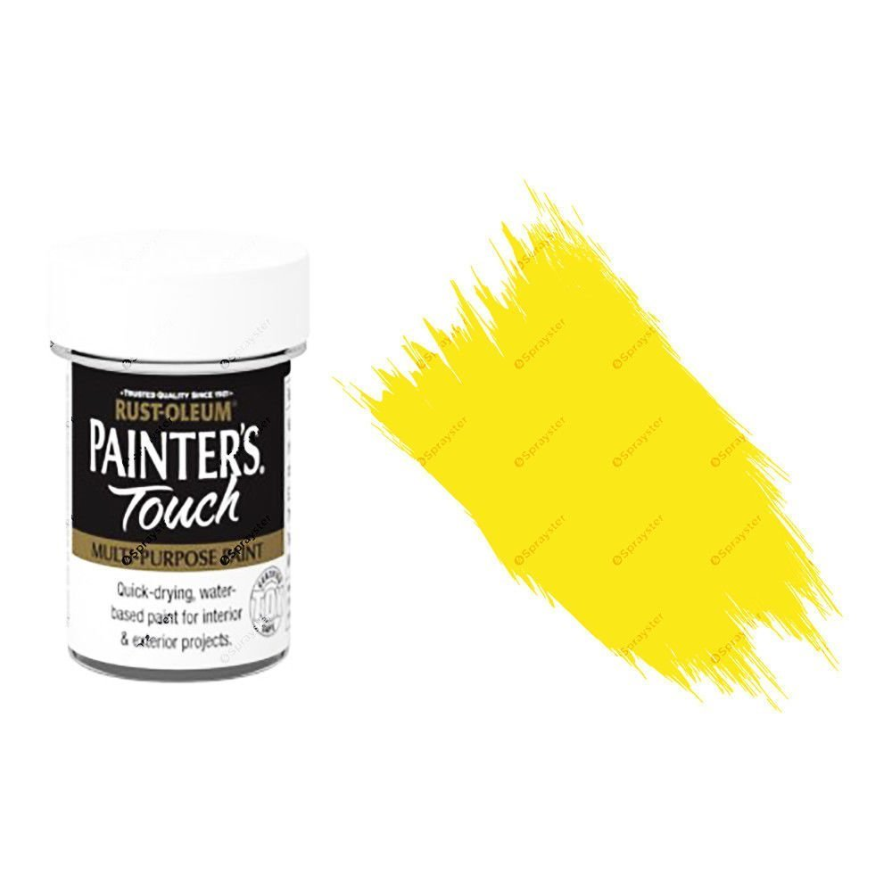Rust-Oleum-Painters-Touch-Multi-Surface-Paint-Bright-Yellow-Gloss-20ml-Toy-Safe-391996255762