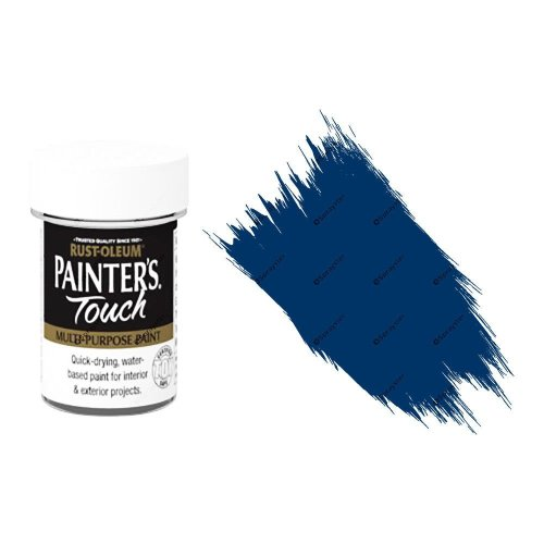 Rust-Oleum-Painters-Touch-Multi-Surface-Paint-Dark-Blue-Gloss-20ml-Toy-Safe-332579962224