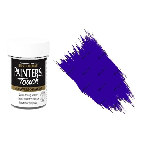 Rust-Oleum-Painters-Touch-Multi-Surface-Paint-Indigo-Blue-Gloss-20ml-Toy-Safe-332579962216