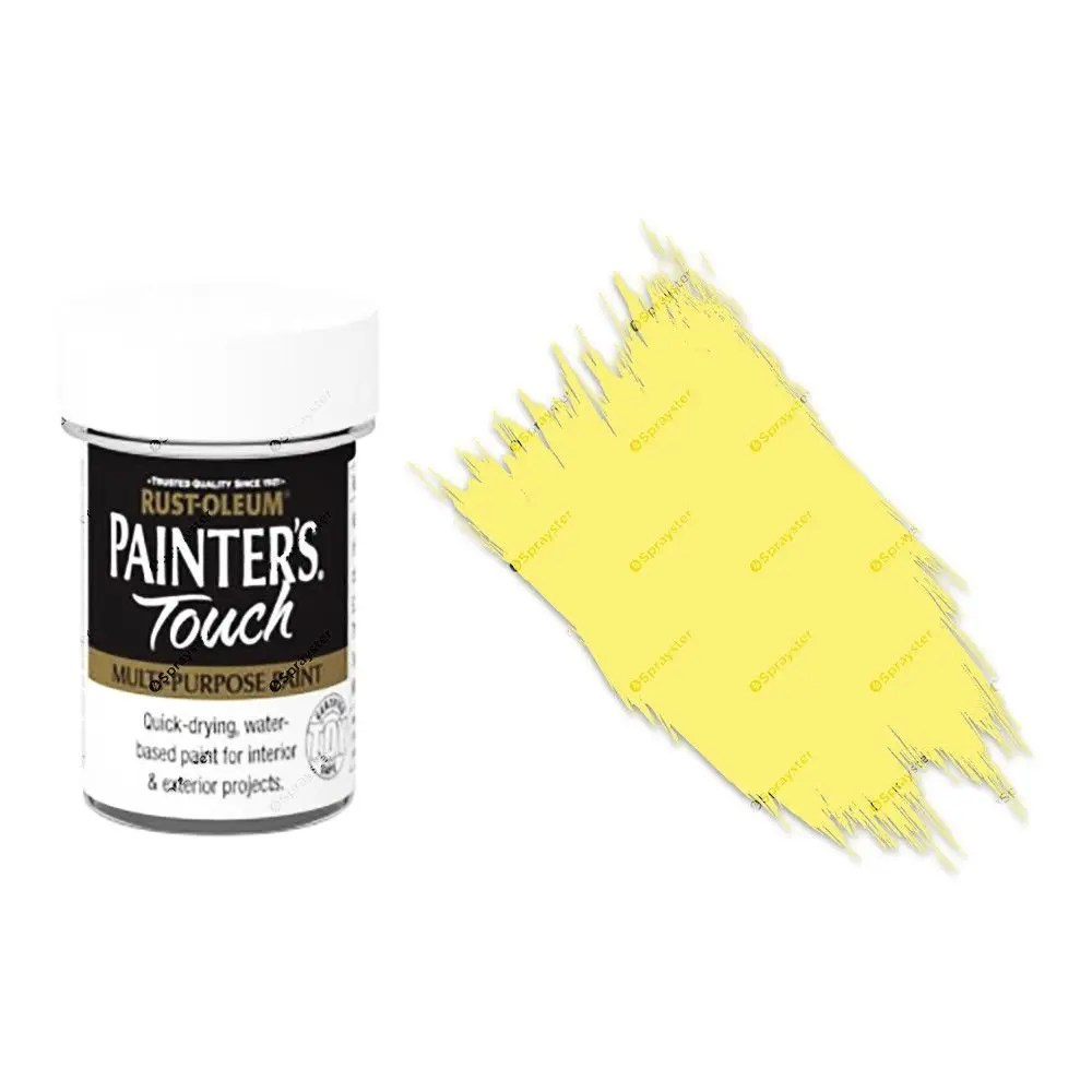 Rust-Oleum-Painters-Touch-Multi-Surface-Paint-Lemon-Yellow-Gloss-20ml-Toy-Safe-372243288444