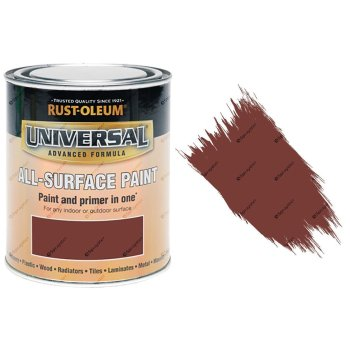 Rust-Oleum-Universal-All-Surface-Self-Primer-Brush-Paint-Gloss-Deep-Red-250ml-372229925945