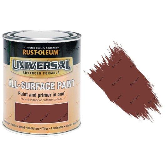 Rust-Oleum-Universal-All-Surface-Self-Primer-Brush-Paint-Gloss-Deep-Red-250ml-372229925945