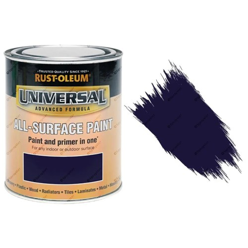 Rust-Oleum-Universal-All-Surface-Self-Primer-Brush-Paint-Gloss-Purple-250ml-372229925943