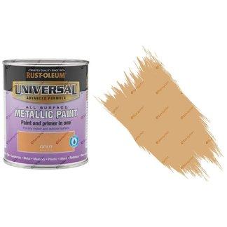 Rust-Oleum-Universal-All-Surface-Self-Primer-Brush-Paint-Metallic-Gold-750ml-332563353694