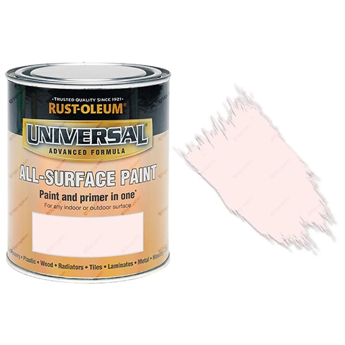 Rust-Oleum-Universal-All-Surface-Self-Primer-Brush-Paint-Satin-Rose-Pink-750ml-391986107752