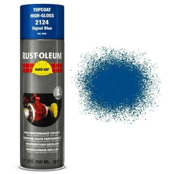 x1-Industrial-Rust-Oleum-Signal-Blue-Aerosol-Spray-Paint-Hard-Hat-500ml-RAL-5005-391472001511