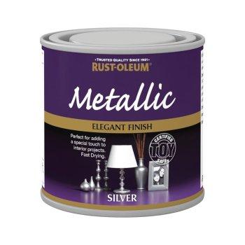 x1-Rust-Oleum-Multi-Purpose-Premium-Brush-Paint-Indoor-Outdoor-Metallic-Silver-332655424822
