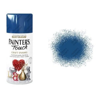 Rust-Oleum Ocean Blue Gloss Spray Paint Painter's Touch Craft Enamel 150ml