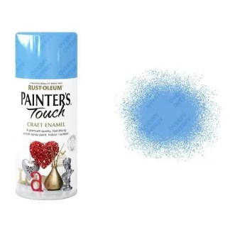 Rust-Oleum Tranquil Blue Gloss Spray Paint Painter's Touch Craft Enamel 150ml
