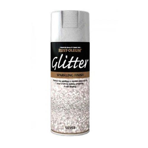 x1-Rust-Oleum-Sparkling-Silver-Glitter-Aerosol-Spray-Paint-Clear-Sealant-Coat-391389503022