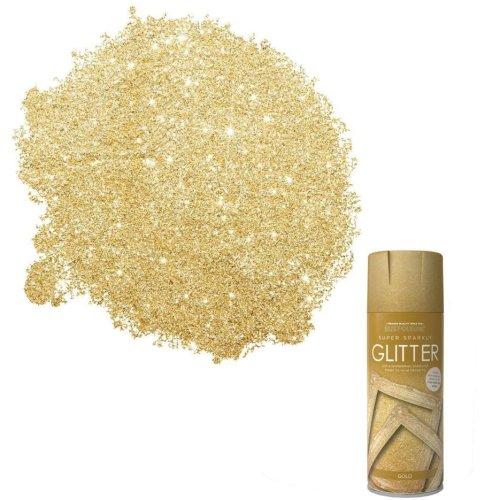 x1-Rust-Oleum-Super-Sparkly-Sparkling-Gold-Glitter-Aerosol-Spray-Paint-400ml-372062696153