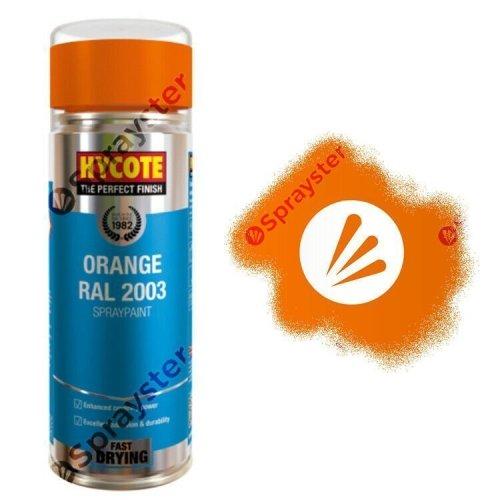 Hycote-Orange-Gloss-Spray-Paint-Aerosol-All-Purpose-RAL-2003-400ml-XUK990-333199216051