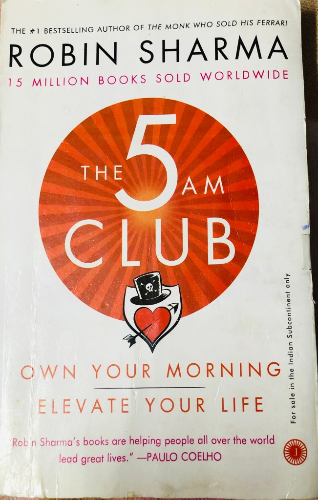 The 5 AM Club By Robin Sharma