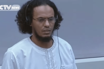 Ahmad al-Faqi al-Mahdi Sentenced Islamist