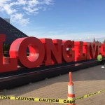 Cleveland Has A 'Long Live Rock' Sign To Attract Fans